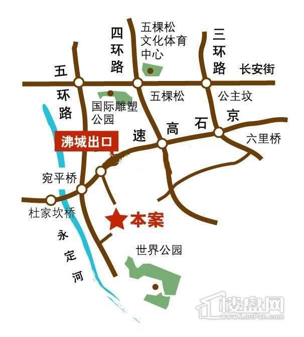 碧桂园龙腾世家交通图