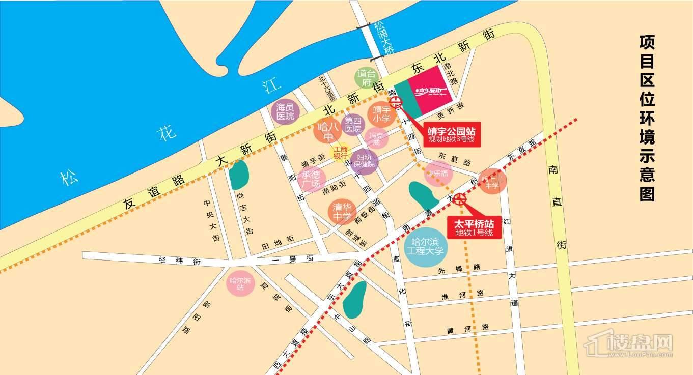 青年城邦 交通图