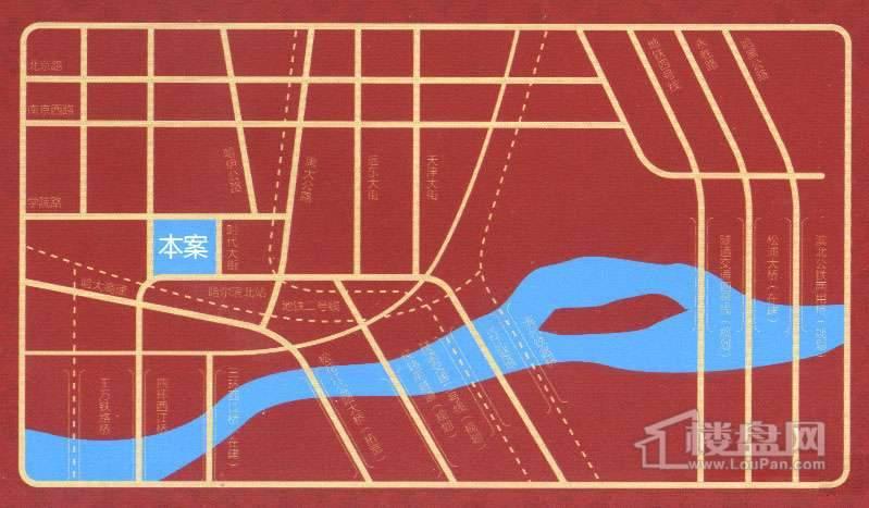 利民学苑交通图