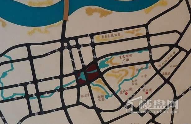宏润翠湖天地交通图