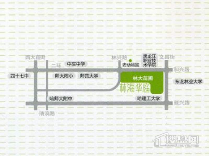 林海华庭交通图