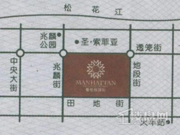 曼哈顿国际交通图