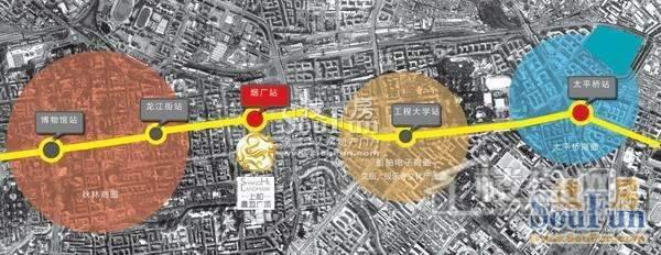 上和置地广场交通图
