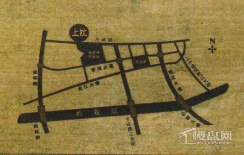 上院交通图