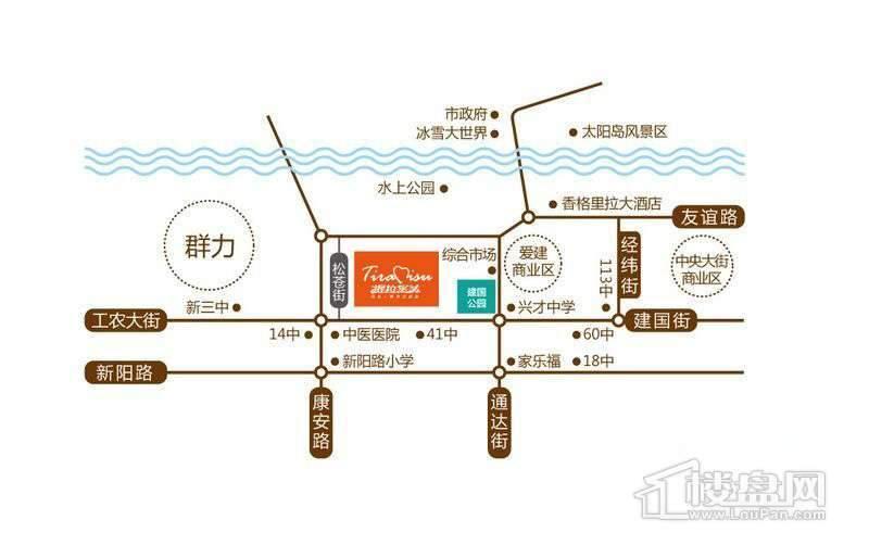 哈尔滨提拉米苏交通图