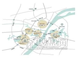 世茂龙湾八期交通图