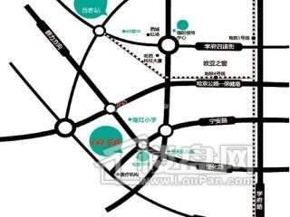 盟科万城交通图