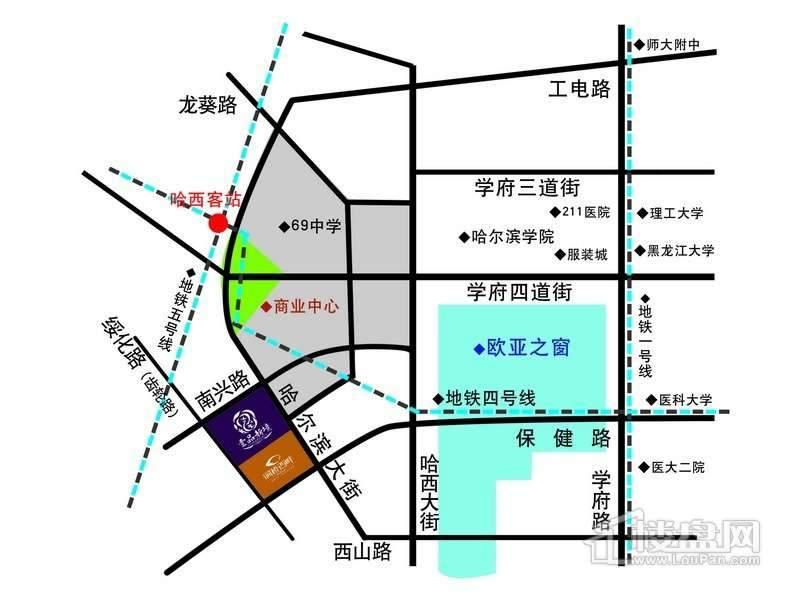 壹品新境交通图