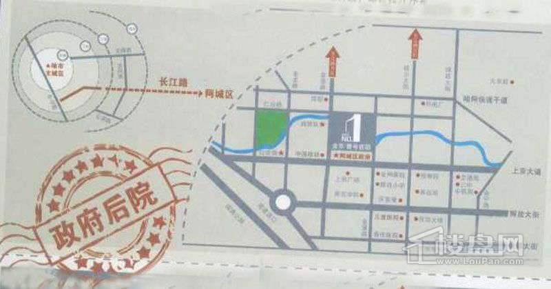 金京•壹号官邸交通图