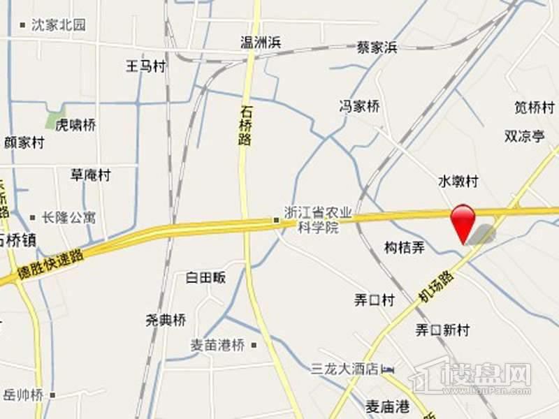 滨江·曙光之城交通图