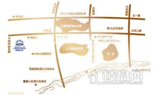 西溪山庄交通图