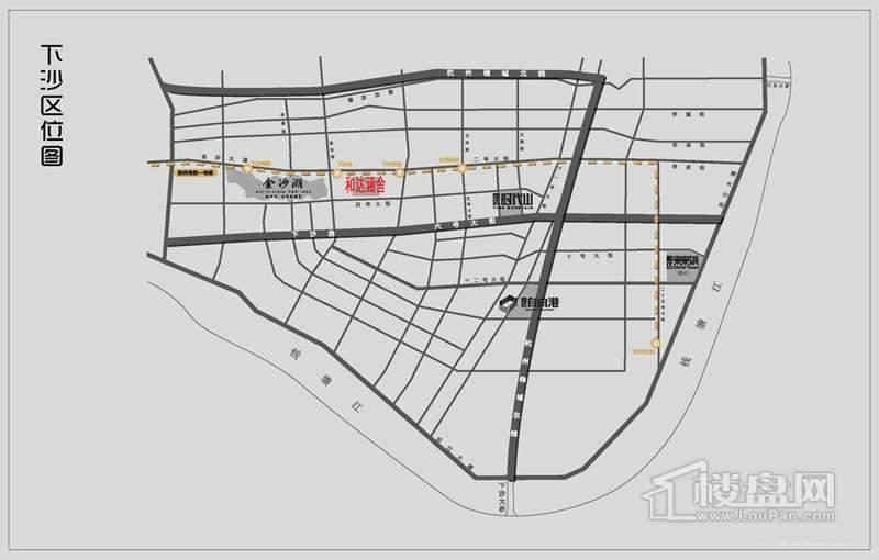 和达·御观邸交通图