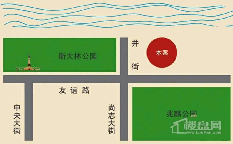 松花江尚交通图