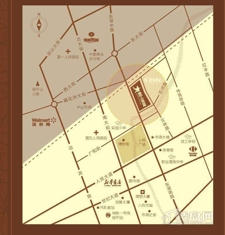 嘉信·九悦印象交通图