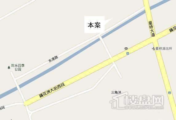 经纬·美耀湾交通图