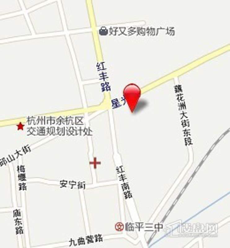 赞成·檀府交通图