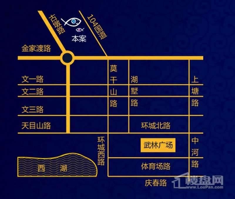 亿丰·蔚蓝郡交通图