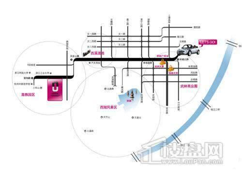 海陆UN公交通图
