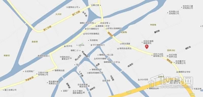 贝利·栖溪望府交通图