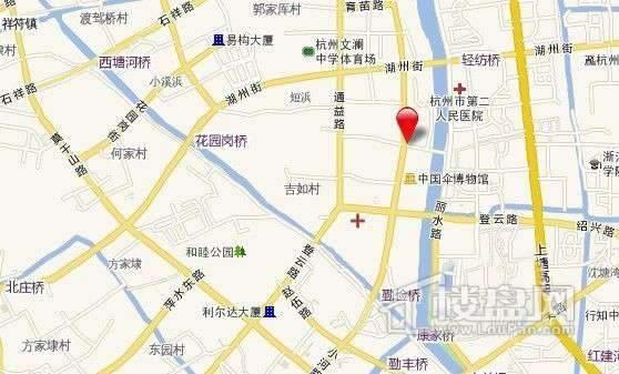 九龙仓·碧玺交通图