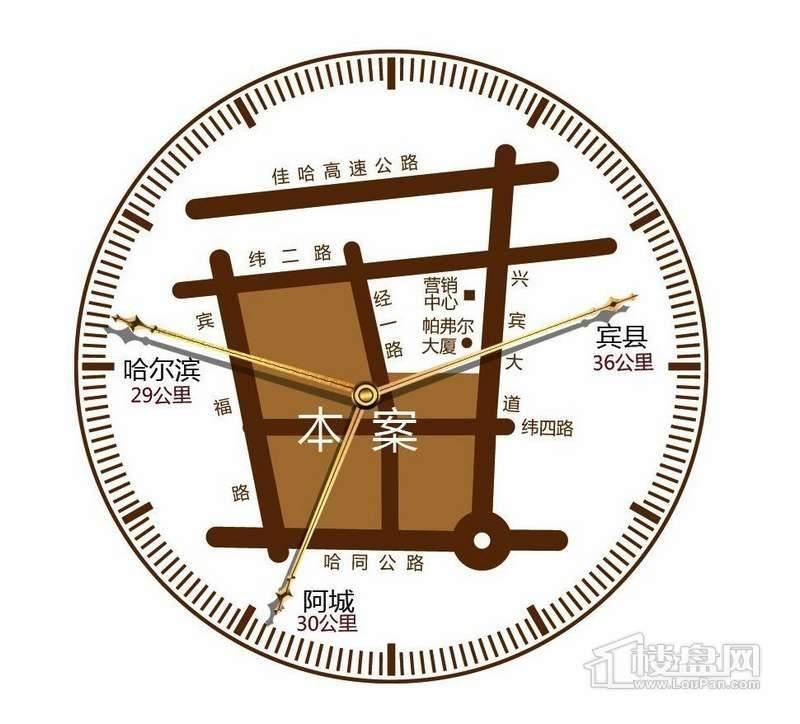 财富东城交通图