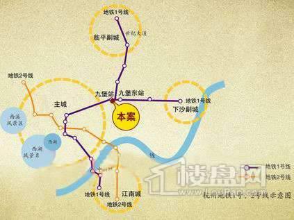 金海香滨湾商铺交通图