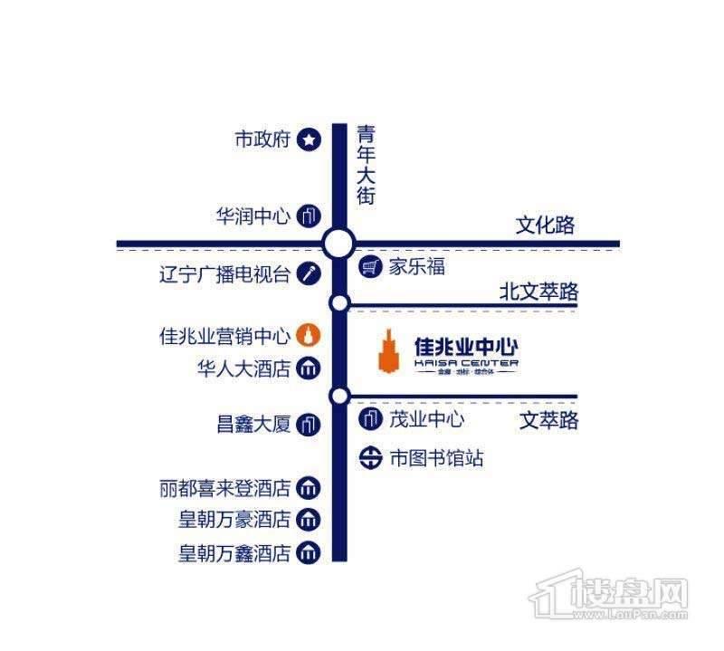 佳兆业交通图