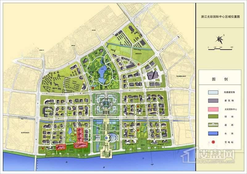 泛海国际中心交通图