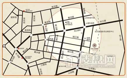 闽江国际交通图