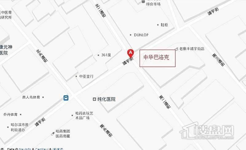 中华巴洛克交通图