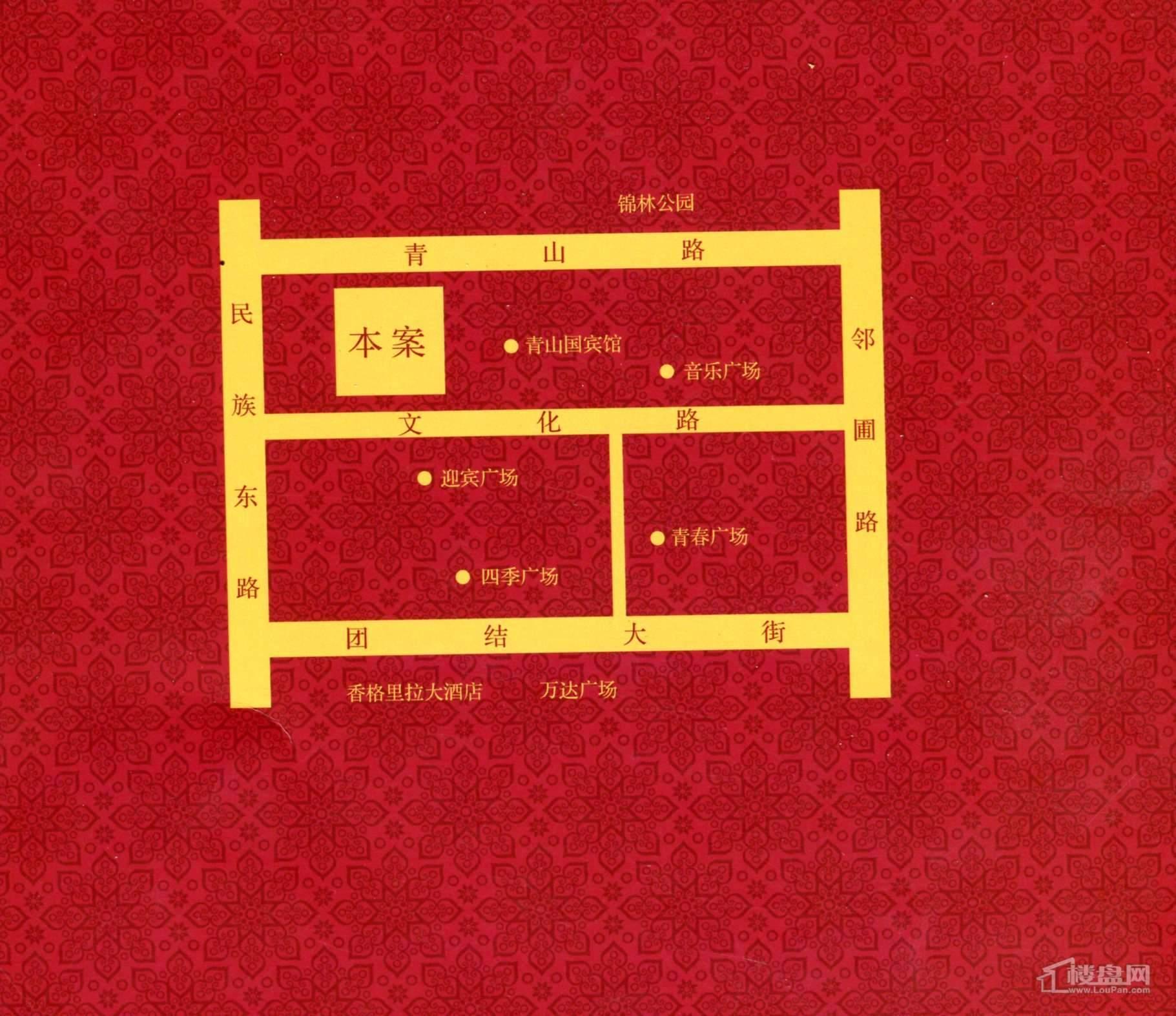 青宾5号院位置图
