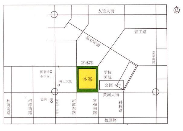 总部经济园二期位置图