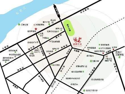 麒麟华府位置图