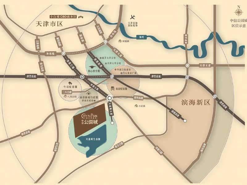 中海公园城位置图