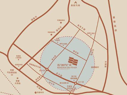 名门时代广场位置图