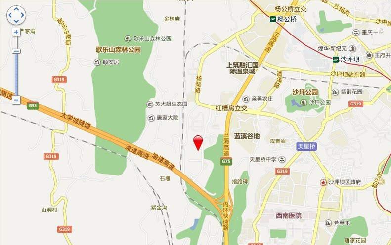 融汇温泉城锦绣里二期位置图