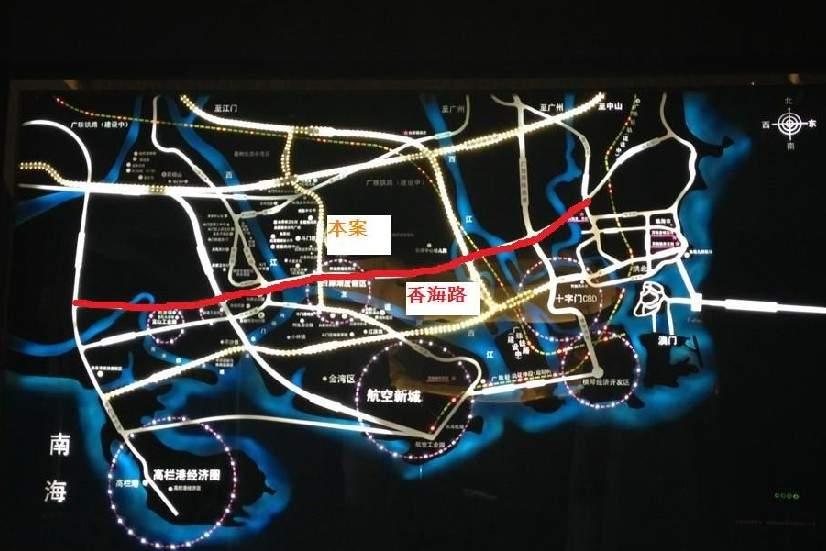 万科魅力之城位置图