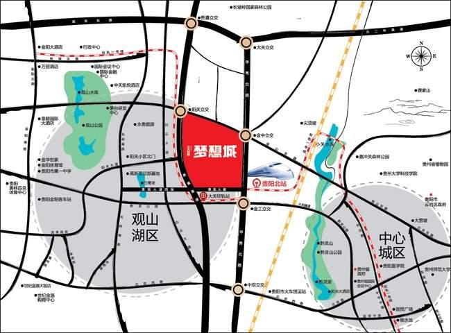 北大资源梦想城位置图