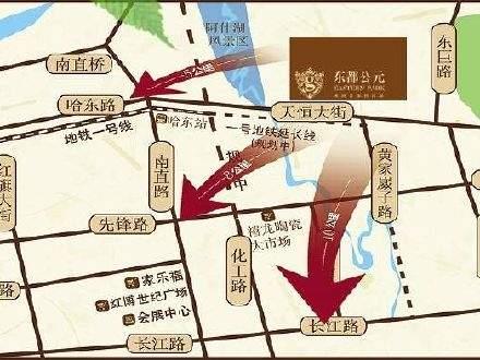 东都公元商铺位置图