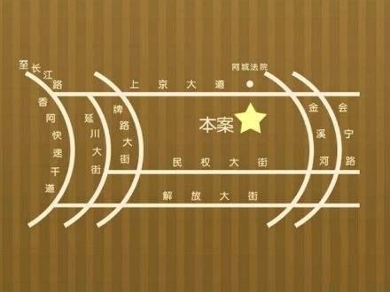 金河铭苑商铺位置图