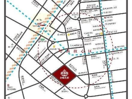 纳帕英郡商铺位置图