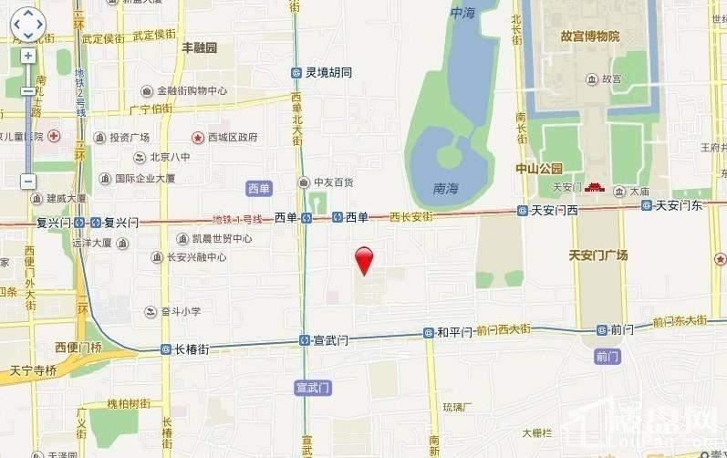 天安国汇位置图