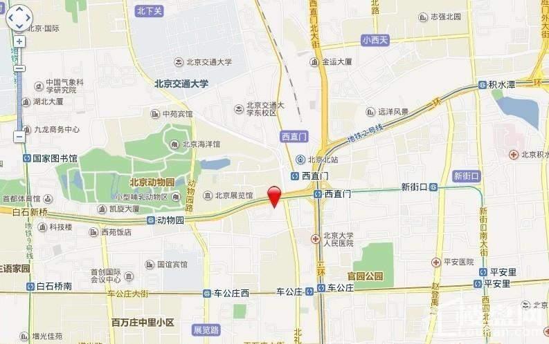 首建·金融中心位置图