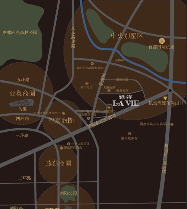 远洋LAVIE位置图