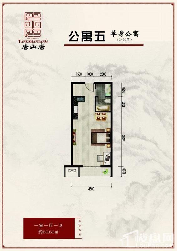 公寓五户型