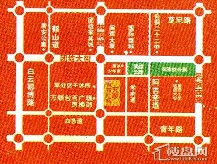 万顺·包百广场商铺位置图