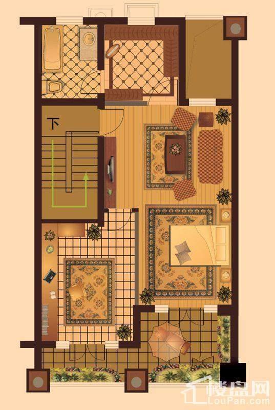 联排别墅三层