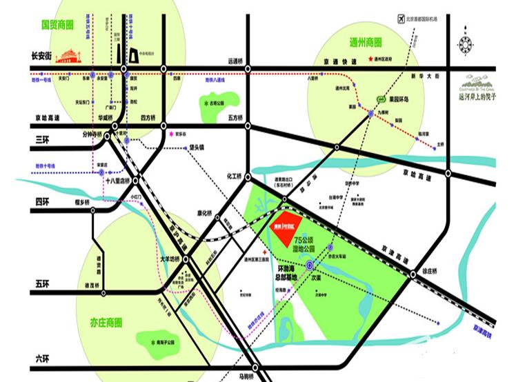 泰禾1号街区位置图
