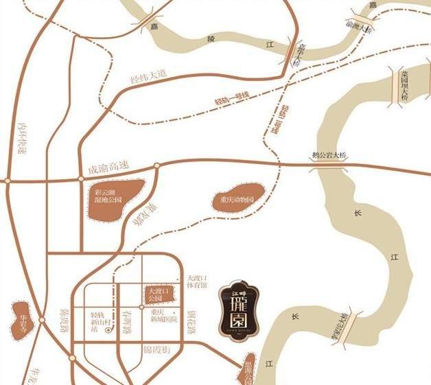 天安数码城江畔珑园位置图