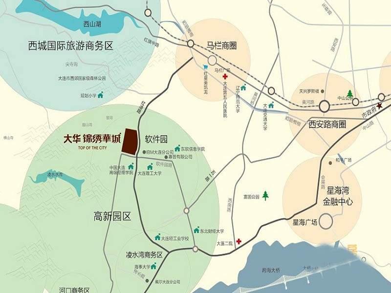 大华锦绣华城位置图